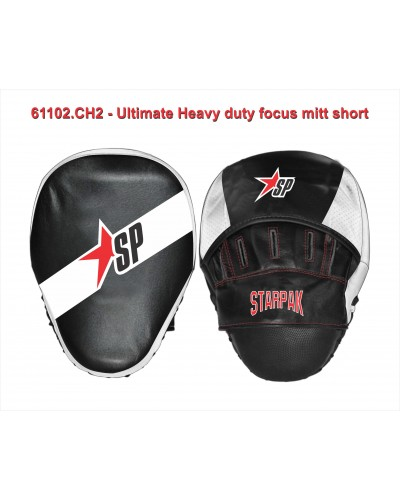 Ultimate heavy duty focus mitt short