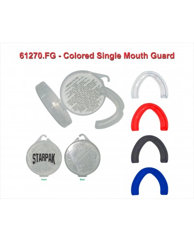 Colored Single Mouth Guard