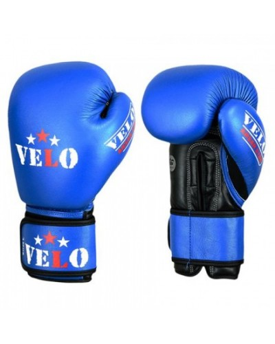 Aiba Approved Velo Boxing Glove- Blue