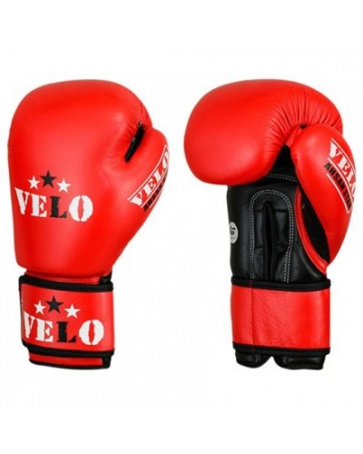 Aiba Approved Velo Boxing Glove- Red